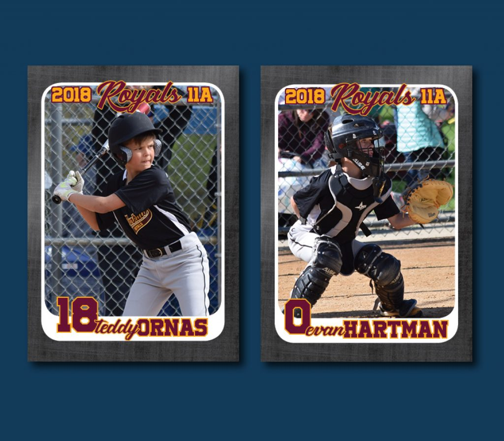 youth baseball cards